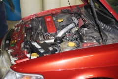 Engine Compartment Before